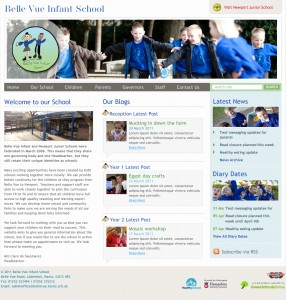 Website - Bellevue Infant School