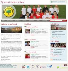 Website - Newport Junior School