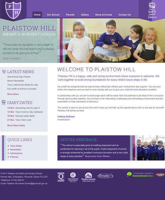 Plaistow Hill Primary School design