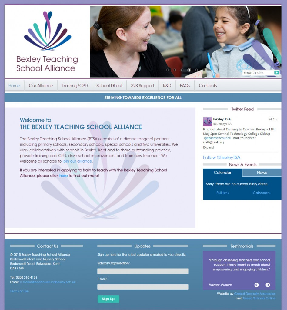 Bexley Teaching School Alliance   Home