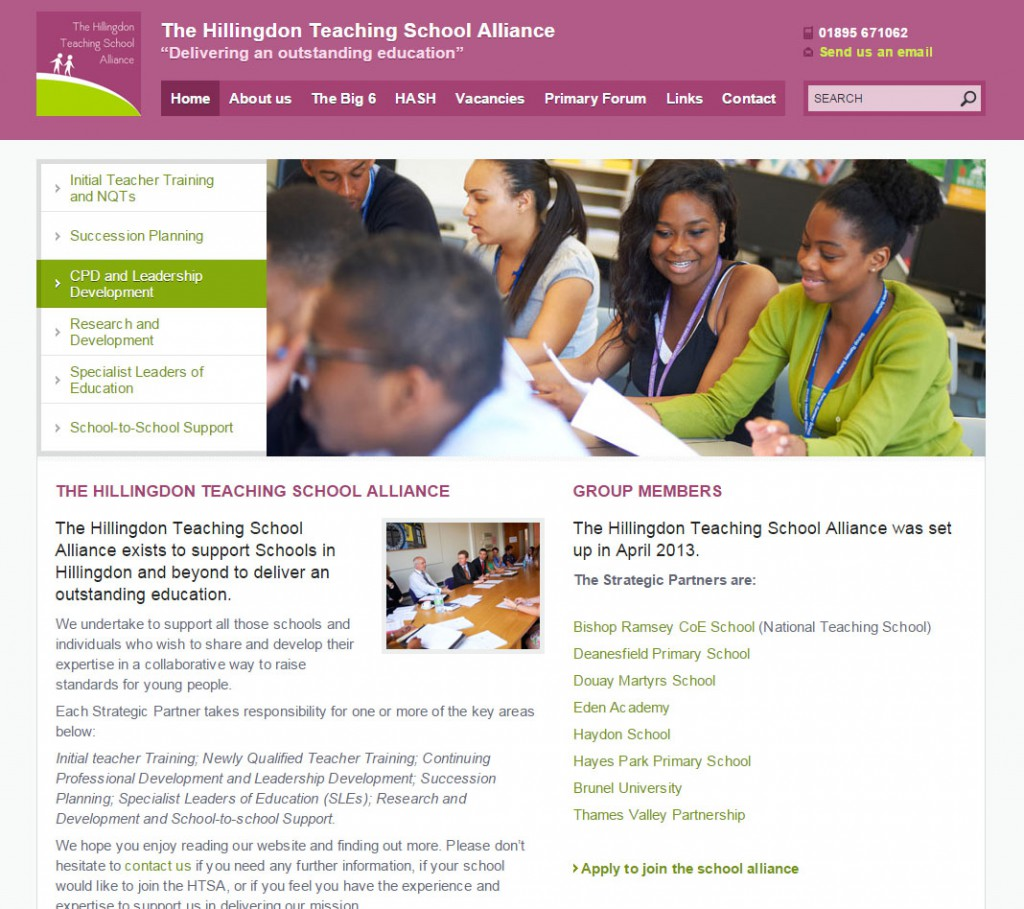 The Hillingdon Teaching School Alliance   Home