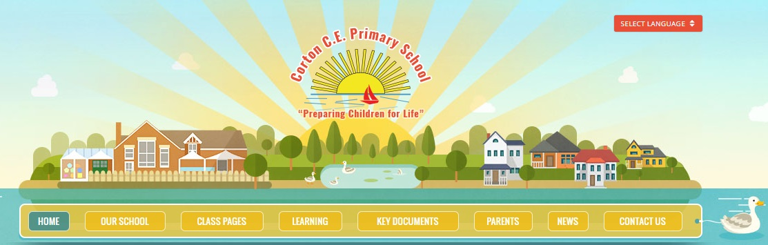 Corton Primary School Website