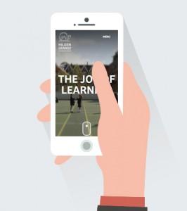 mobile school website