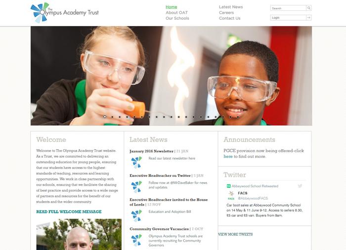 Olympus Academy Trust Website