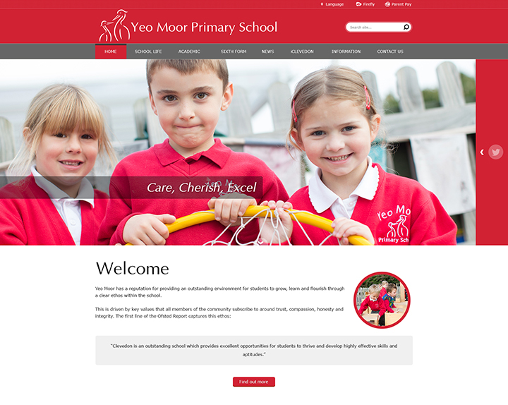 Yeo Moor Primary School Academy Trust Website MAT