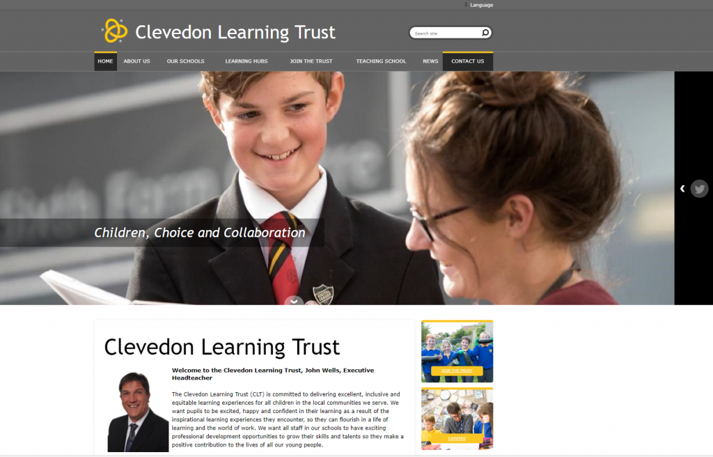 MAT Website, Academy Trust Website, Multi Academy Website by Greenhouse School Websites